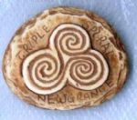 Newgrange Triple Spiral Fridge Magnet